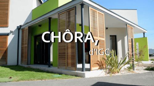 Les maisons Chôra d'IGC