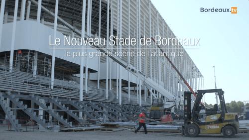 Photo Présentation du nouveau Stade de Bordeaux - Wifilm Productions